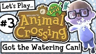Let's Play: Animal Crossing New Leaf Welcome Amiibo (Ep 3)