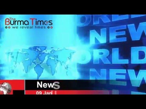 Burma Times Daily News 09.01.2016