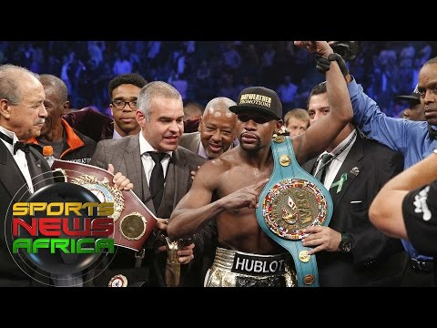 Sports News Africa Online:  Floyd Mayweather the undisputed welterweight champion of the world