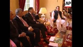 Former PMs of Pakistan meet to discuss Musharraf