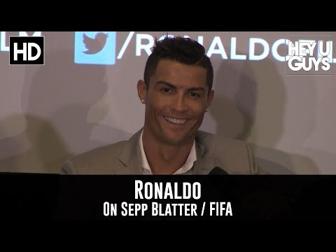 Cristiano Ronaldo talks Ballon D'Or Win & Sepp Blatter / FIFA Scandal