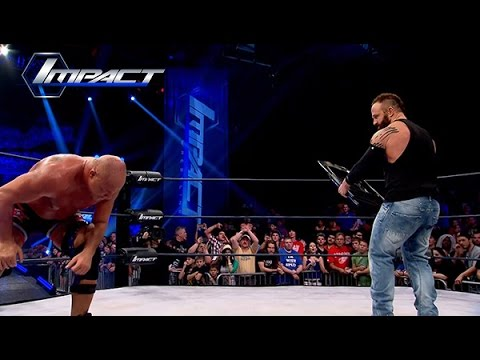What Does Eric Young Do When The BDC Tries To Take Out Kurt Angle? (Apr 17, 2015)
