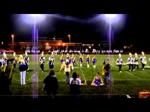 Berkshire High School Marching Band - Kinsman Cup game 2013