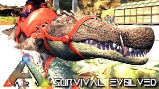 ARK SURVIVAL EVOLVED - NEW DINO KAPROSUCHUS TAMING !!! (GAMEPLAY NEW UPDATE v248)