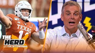 Colin Cowherd picks Week 2 college football in the Marquee 3 | CFB | THE HERD
