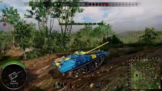 World of Tanks Xbox One - Stark Strv S1 Mastery Gameplay 6K Damage