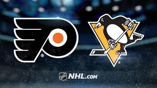 Rust scores OT winner as Pens beat Flyers, 5-4