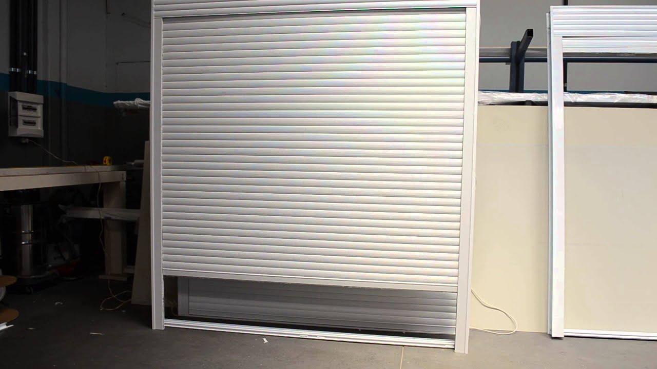Porta com persiana integrada motorizada disare - Persiana de aluminio ...