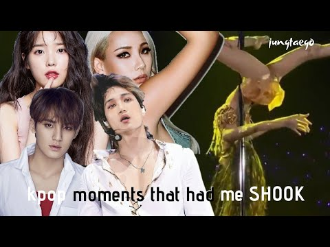 kpop moments that had me shook (part 2)
