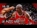 Michael Jordan Highlights vs Cavaliers (1991.02.18) - 32pts, Good D wins the game!