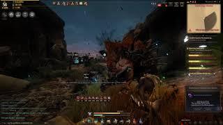 Black Desert Online LV 58 Ranger - Desert Nagas temple rotation