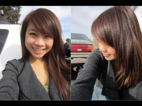 How to Dye Hair : Revlon Colorsilk Light Ash Blonde on Black Hair
