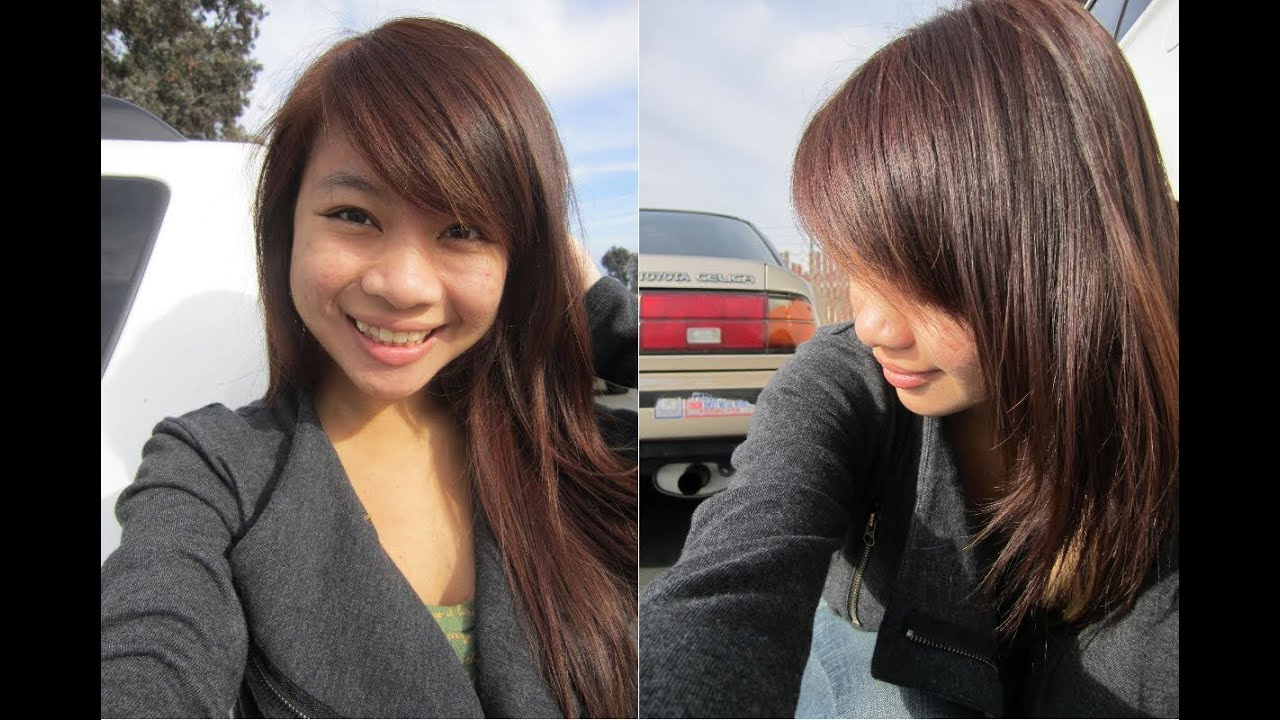 ... Hair from Black to Brown l Revlon Light Ash Blonde Dye on Black Hair