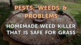 Homemade Weed Killer That Is Safe for Grass
