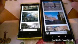 Speed Test Lumia 1020 VS Lumia 1520