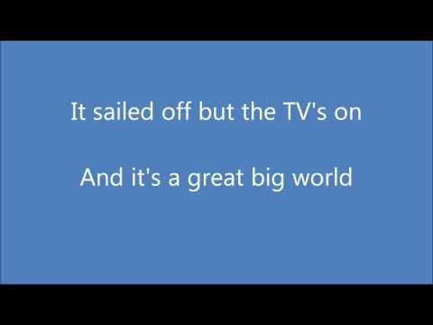 The Killers - Just Another Girl (lyrics) video