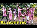 BLOOPERS: The Powerful Pink [Power Rangers]