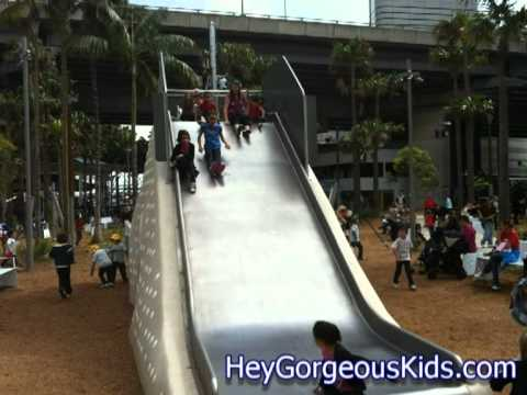 Darling Quarter Playground - Darling Harbour - Free activity for kids