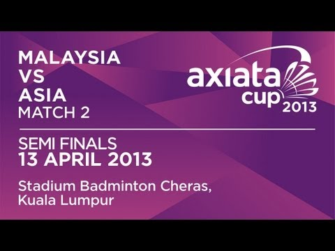 Semi Finals - MS - Daren Liew (MAS) vs Lee Hyun Il (ASIA) - Axiata Cup 2013