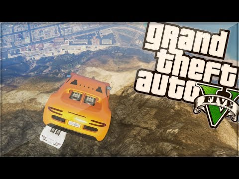 Gta 5 Online Funny Moments | flying Cars | W sidemen (gta V) video