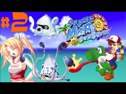 Super Mario Sunshine Playthrough Deel 2 - Hentai Tentakel #memories video