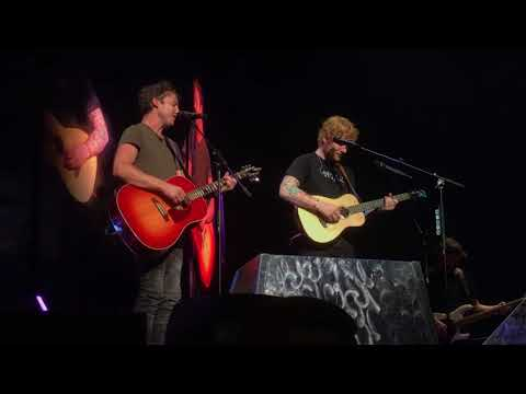 Make Me Better - James Blunt & Ed Sheeran in Columbus Ohio Oct 4th @ Nationwide Arena