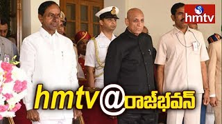 TRS Leaders Happy Over KCR Oath  | hmtv