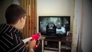Análise - PlayStation®Move Sharp Shooter | Gameplay Killzone 3