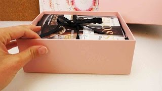 Glossybox Oktober 2015 - Abo Box Unboxing