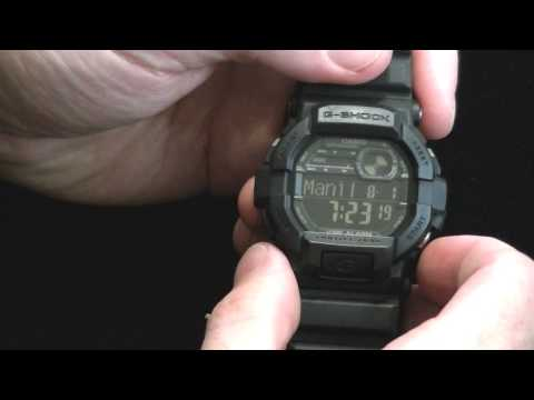 how to change time on g shock gd 350