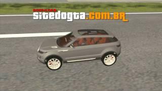 Land Rover Range Rover LRX 2010 (Evoque Concept) GTA San Andreas