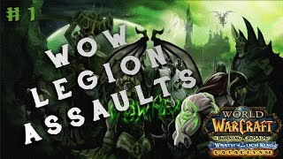 World of Warcraft Legion | levels 102-104 | Doing the grind thing a lil