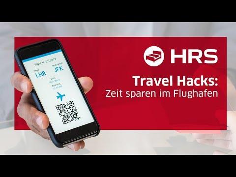 ► Zeit sparen am Flughafen  ✓ Besser unterwegs mit HRS ║ Schneller durch die Sicherheitskontrolle