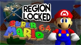 Super Mario 64 - Region Locked