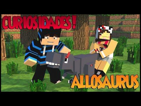 Minecraft: DinoCraft #36 - Allosaurus, um dos predadores mais perigosos!