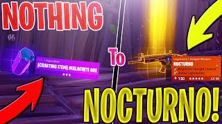 *NEW* Trading from nothing to a NOCTURNO *NOTHING TO SOMETHING* In Fortnite Save The World PVE