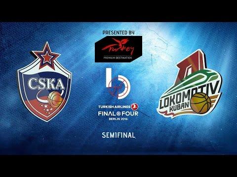 Highlights: CSKA Moscow-Lokomotiv Kuban Krasnodar