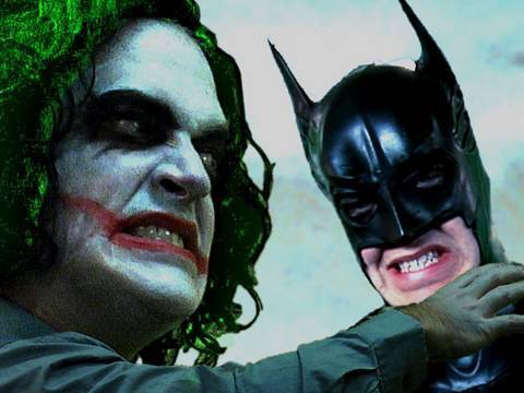 Batman Parody: The Dark Knight is Confused. Key of Awesome #8. Video
