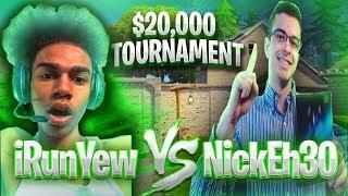 iRunYew vs. NickEh30 • $20,000 Tournament ( Friday Fortnite )