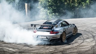 Porsche 991 GT2RS MAD DONUTS, DRIFTS and LAUNCHES!!