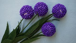 How To Make Flower From Foam Beads (Very Easy) - Creative ideas | DIY & Crafts