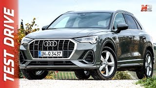 NEW AUDI Q3 35 TDI QUATTRO 2019 - FIRST TEST DRIVE