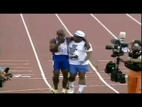 Most Inspiring Olympics Race - Never Give Up video