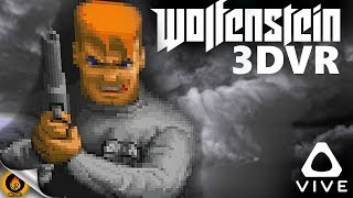 WOLFENSTEIN 3D but in Virtual Reality! [HTC Vive]