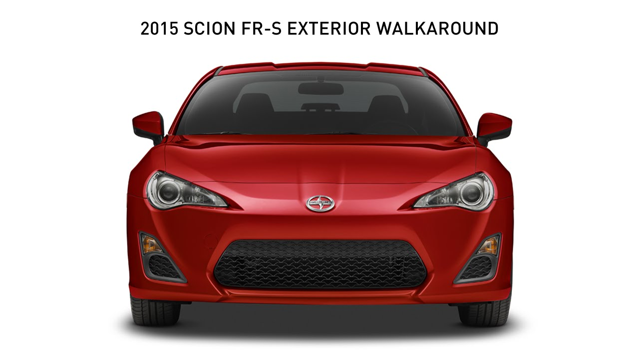 2015 scion fr s exterior walkaround youtube. Black Bedroom Furniture Sets. Home Design Ideas