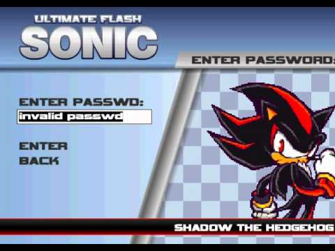 How to get Shadow & Amy on Ultimate Sonic Flash