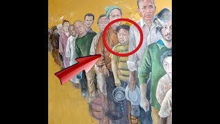 Artist Depicts World Leaders As Desperate Migrants!