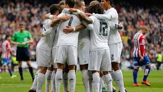 Real Madrid 5-1 Sporting Gijon Goles Audio Cope 17/01/16 LIGA BBVA