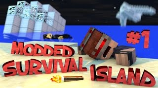 Survival Island Modded - Minecraft: The Storm Part 1 (STORY)
