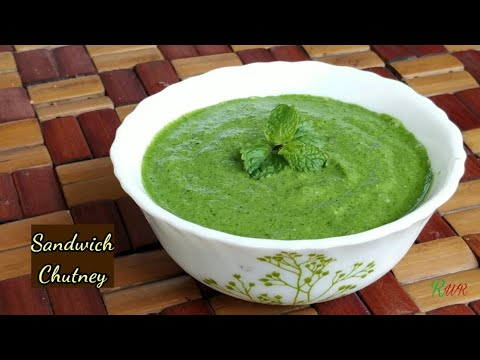 Sandwich Chutney | सैंडविच चटनी | Different style of making Chutney | by Recipes with Riya